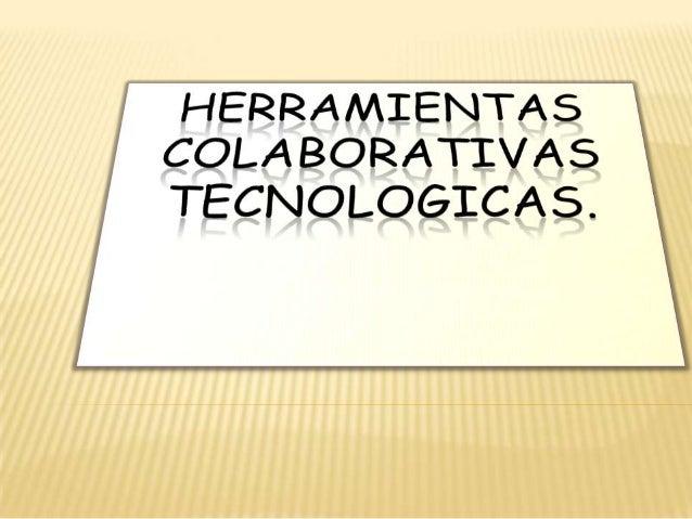 HerramientasTecnológicasColaborativasVOKI PDFArchivoPower PointBlog