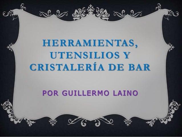 Utensilios y cristaleria for Cristaleria para bar
