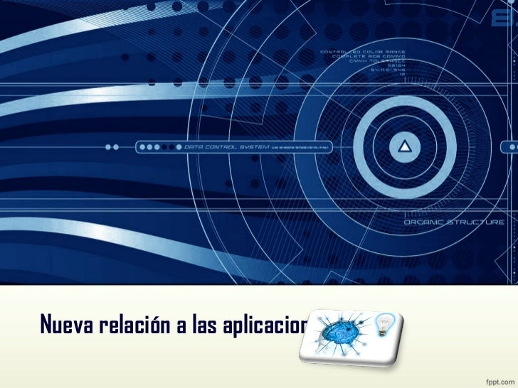 Nueva relación a las aplicaciones web