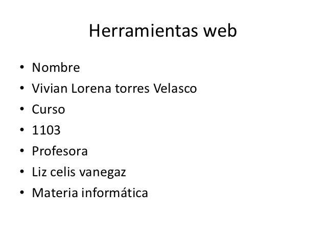 Herramientas web[1]