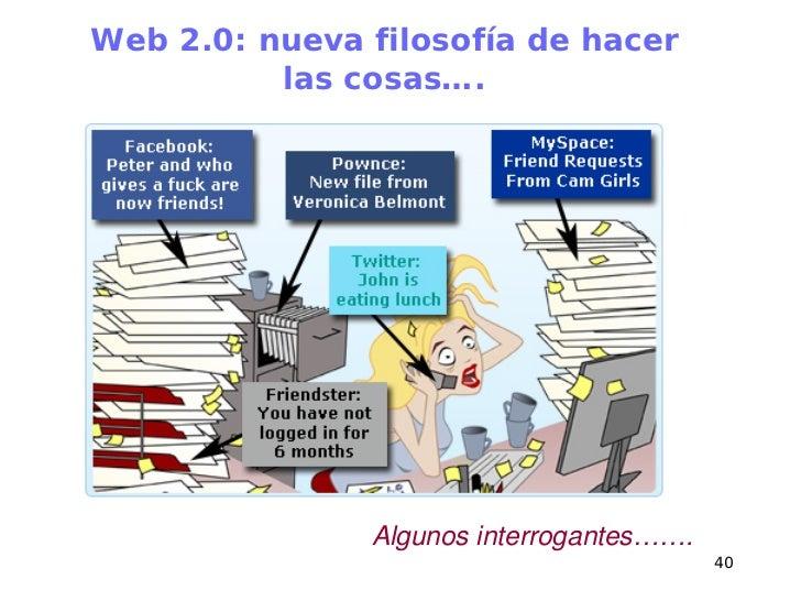 Herramientas Con Filosofia Web 2.0 Web 2.0 Nueva Filosofía de