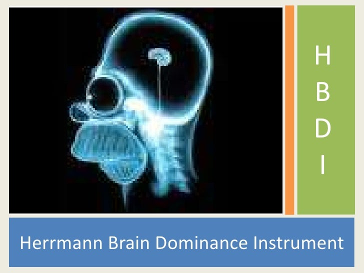 Herrmann Brain Dominance Instrument<br />HBDI<br />