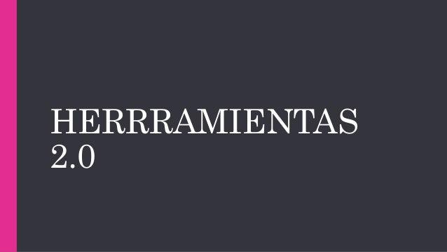 HERRRAMIENTAS 2.0