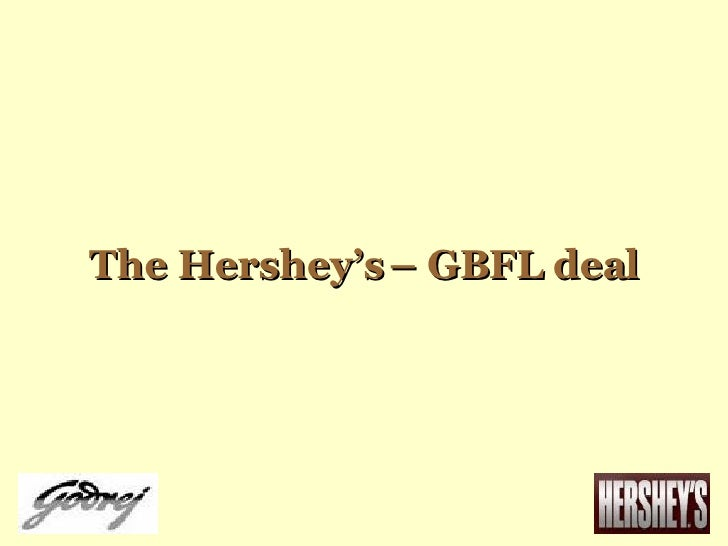 The Hershey's – GBFL deal