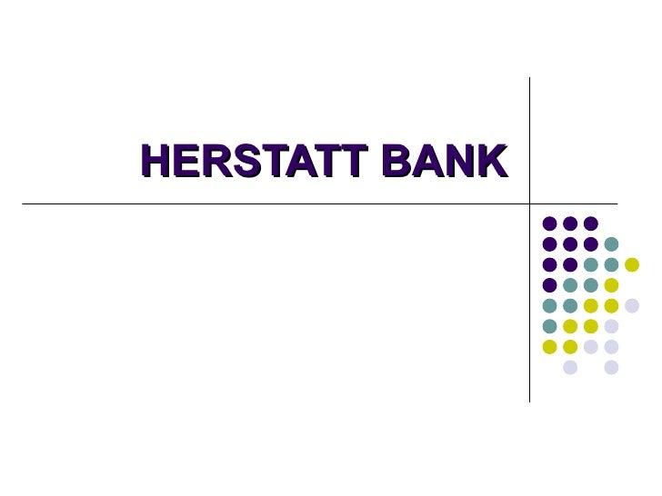HERSTATT BANK