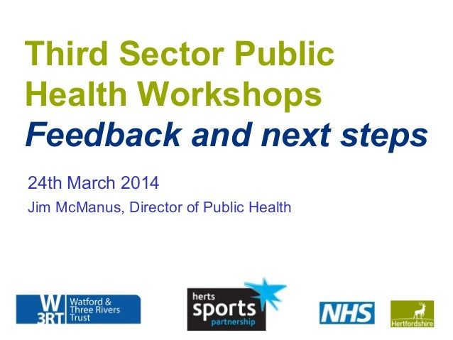 Herts third sector workshops outcomes