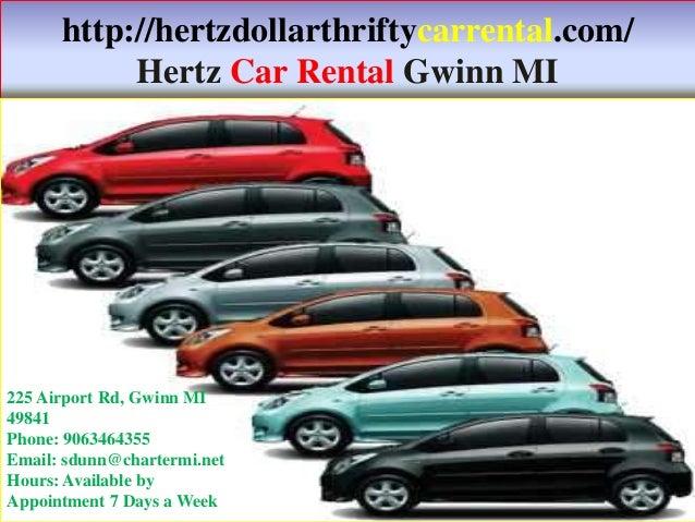 Car Rentals In Gwinn Mi