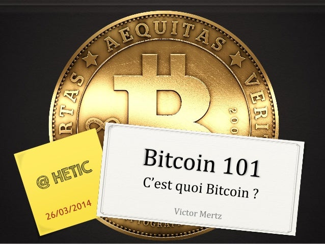 Introduction au Bitcoin