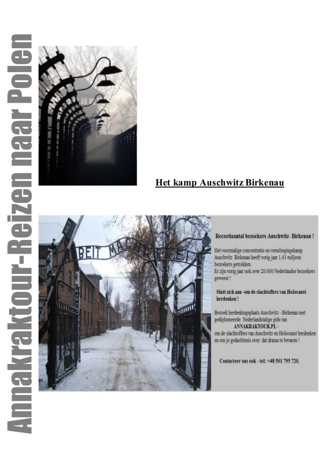 Het kamp Auschwitz BirkenauAnnakraktour-ReizennaarPolen