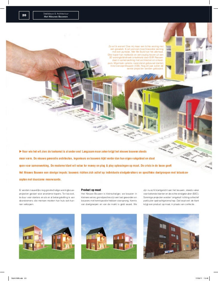 Stedebouw & Architectuur          20                   Het Nieuwe Bouwen                                                  ...