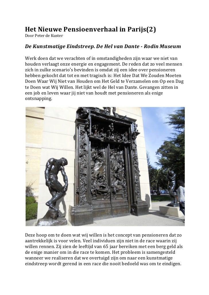 Het Nieuwe Pensioenverhaal in Parijs (3)