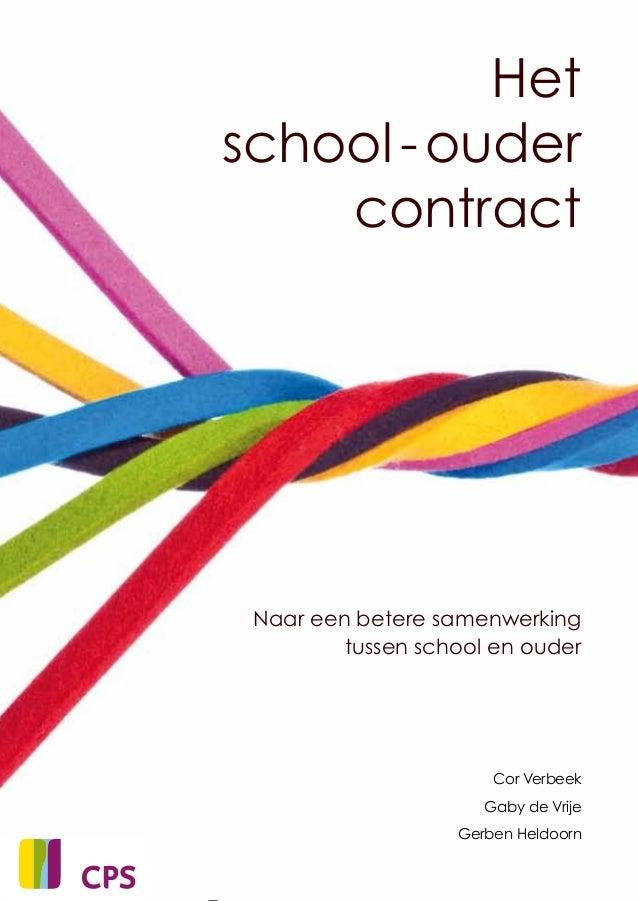 Het school ouder contract