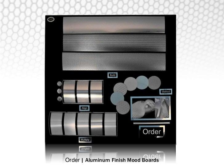 Order | Hexagon Aluminum Finish Mood Board