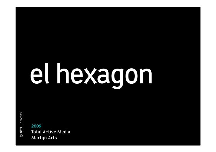 el hexagon © TOTAL IDENTITY                        2009                    Total Active Media                    Martijn A...