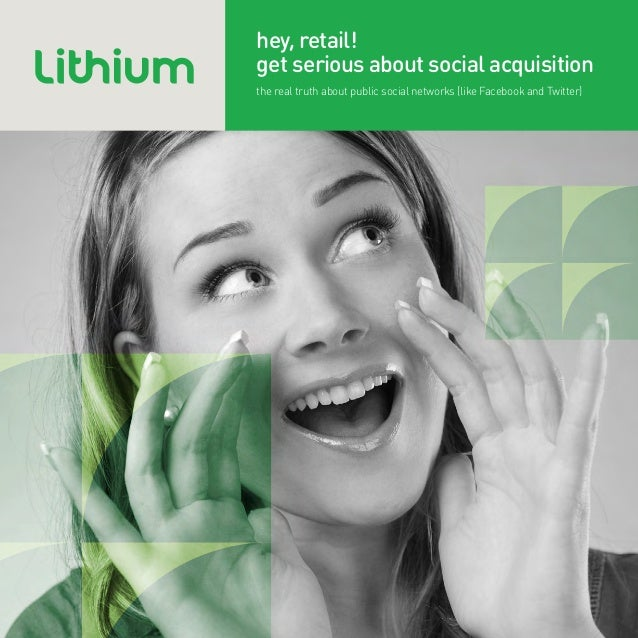 Hey Retail! Get Serious About Social Acquisition