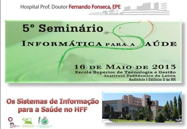 HFF - V Seminario SIS IPLEI 16.05.2013