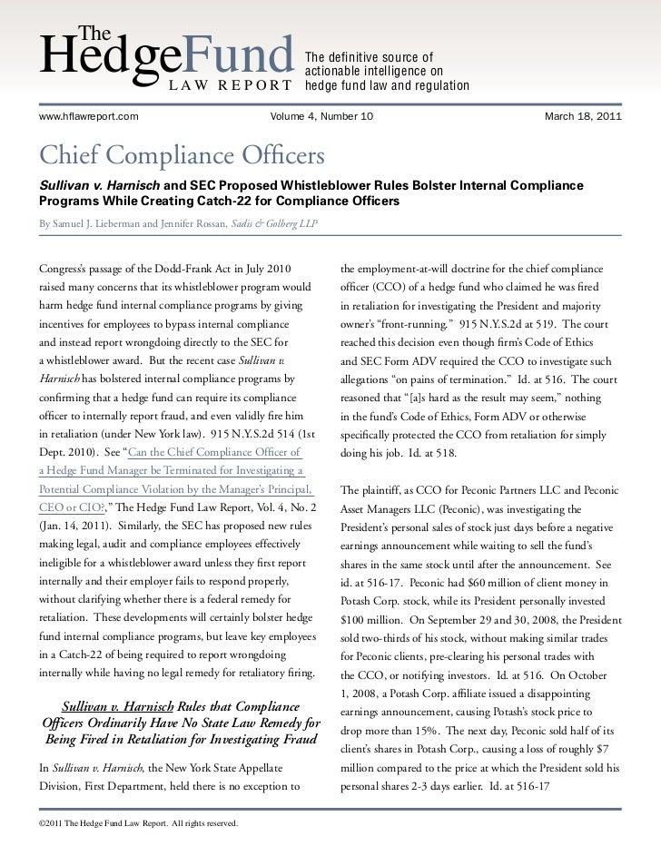 SEC Whistleblower Article