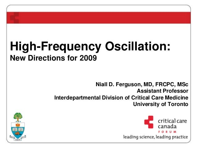 High-Frequency Oscillation: New Directions