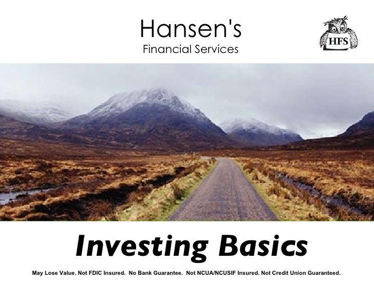 Class Investing Basics