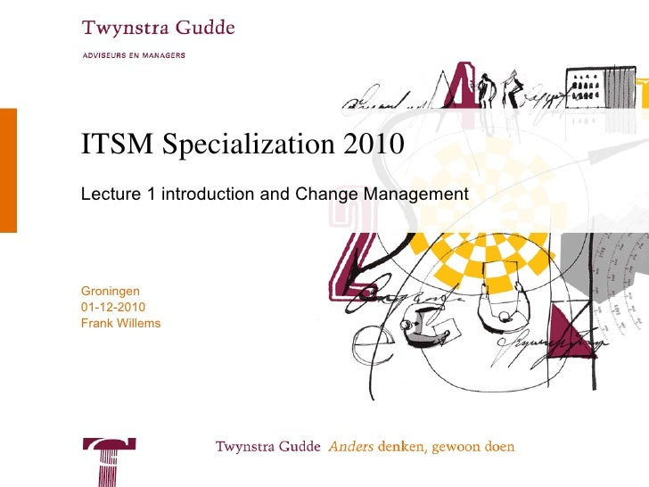ITSM Specialization 2008-2009 The principles of Sourcing