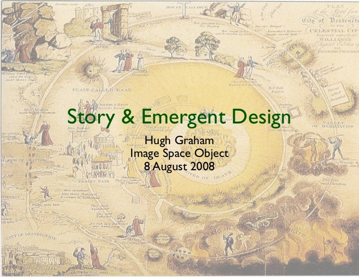 Story  Emergent Design         Hugh Graham       Image Space Object         8 August 2008