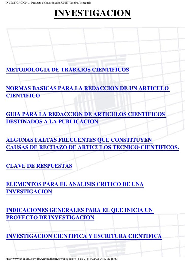 H guia de redacción científica