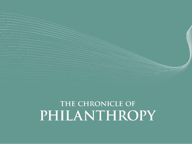 What's New and What's Next in the Nonprofit World Stacy Palmer, Editor The Chronicle of Philanthropy AFP - Indianapolis Ma...