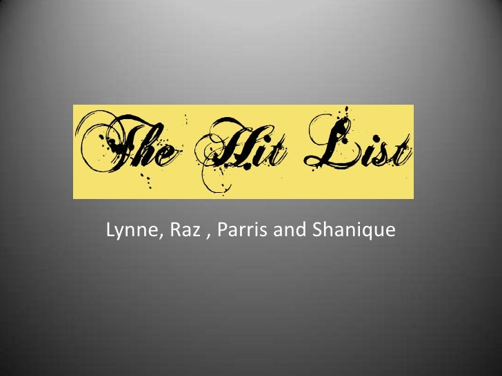 Lynne, Raz , Parris and Shanique<br />