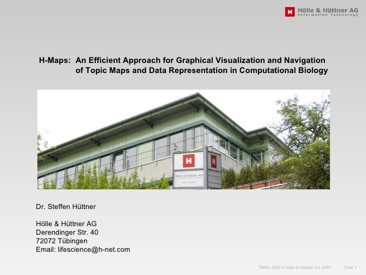 H-Maps:  An Efficient Approach for Graphical Visualization and Navigation  of Topic Maps and Data Representation in Comput...