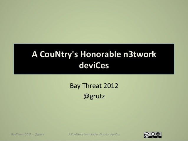 A CouNtrys Honorable n3twork                                          deviCes                                   ...
