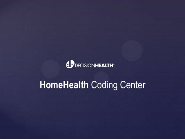 Take a tour of the Home Health Coding Center