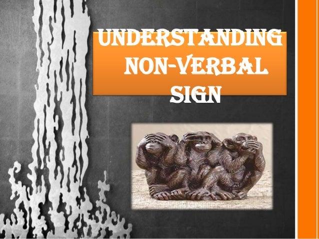 Understanding Non-verbal sign