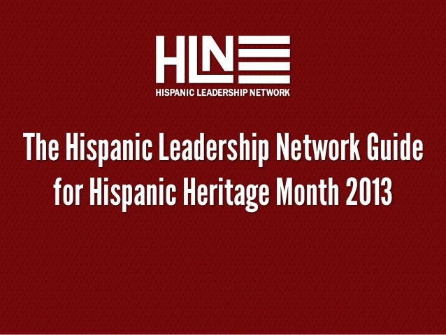 HLN Guide to Hispanic Heritage Month 2013