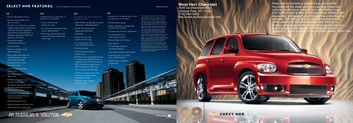 2010 Chevrolet HHR Buffalo