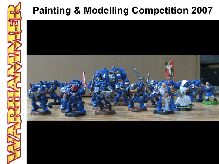 Painting & Modelling Competition 2007
