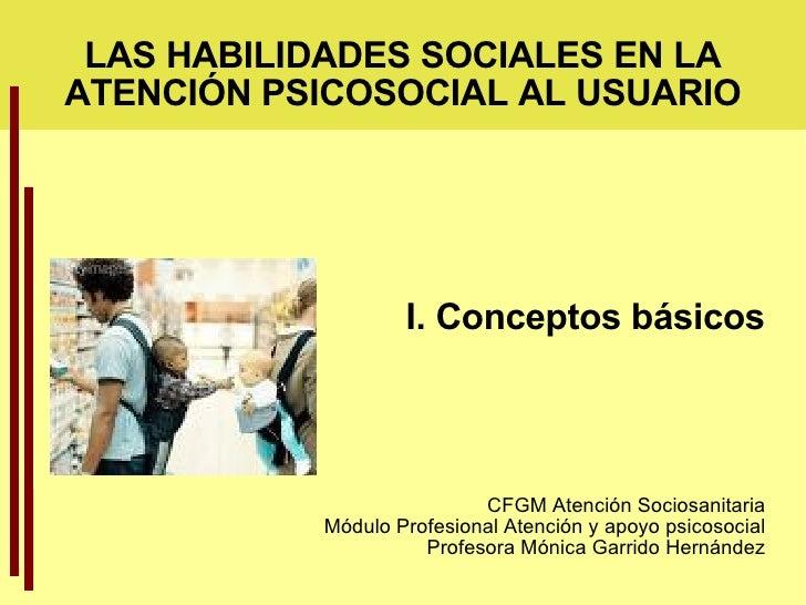 Habildades Sociales: Conceptos Basicos