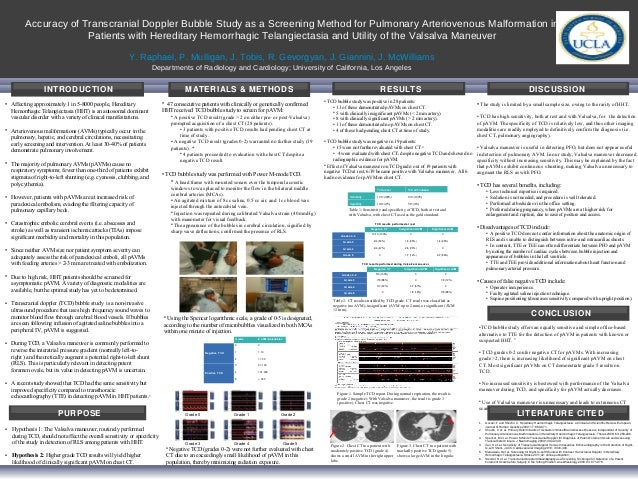 Accuracy of Transcranial Doppler Bubble Study as a Screening Method for Pulmonary Arteriovenous Malformation in           ...