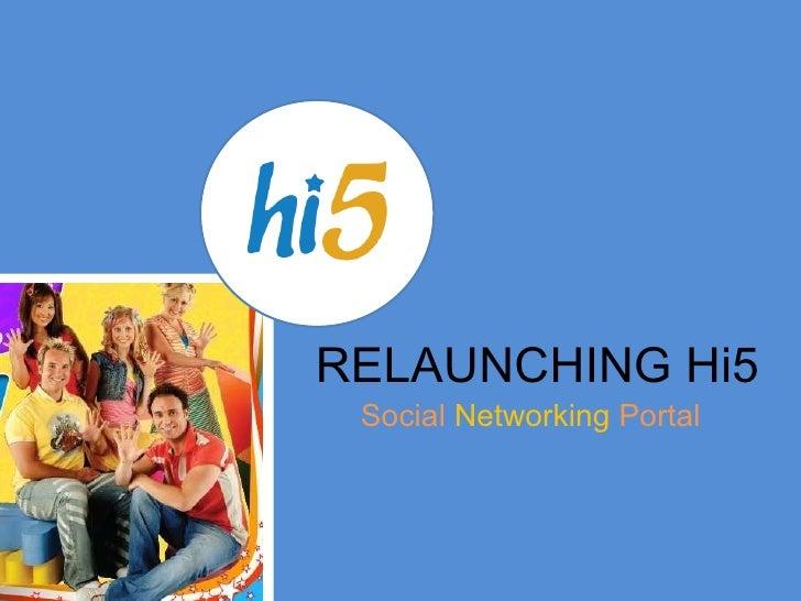 Hi 5 Rebranding