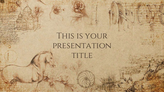 This is your presentation title