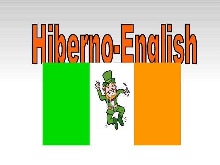 Hiberno-English