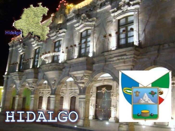 • El estado central de Hidalgo tiene una superficie  de 20,846 km2 con lo que representa el 1.1% del  territorio nacional....