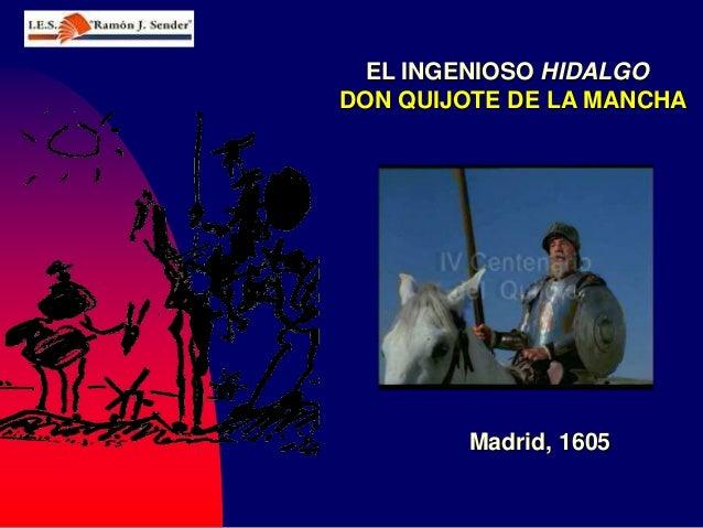 Don Quijote I Parte (1605)