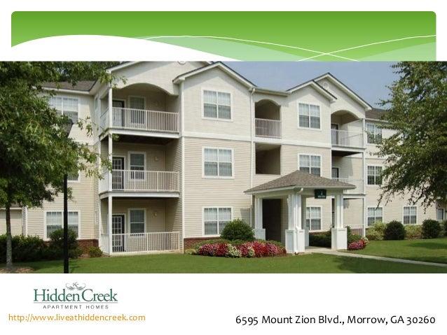 Hidden Creek Apartments Morrow Ga