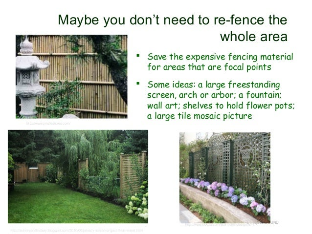 Landscaping Ideas To Hide Ugly Fence : Hide that ugly wall