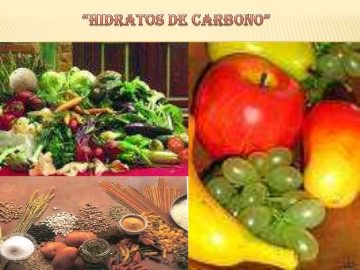 """Hidratos de carbono""   <br />"