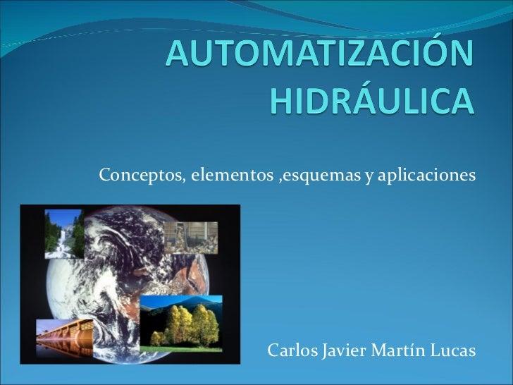 Conceptos, elementos ,esquemas y aplicaciones Carlos Javier Martín Lucas