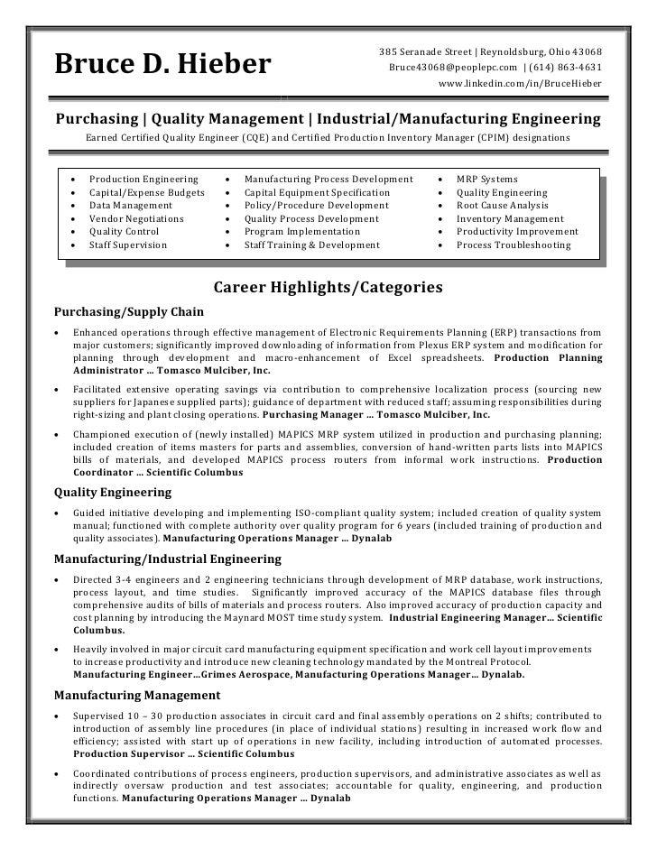 Image Result For Industrial Engineer Resume Samples   Industrial Engineer  Resume New Section
