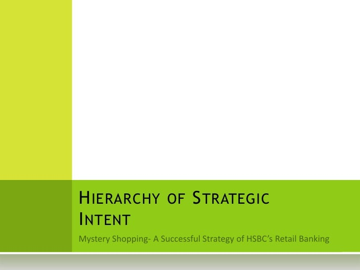 strategic intent Strategic intent is defined as a compelling statement about where an organization is going that succinctly conveys a sense of what the organization wants to achieve long-term.