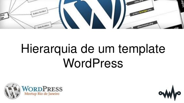 Hierarquia de um template WordPress