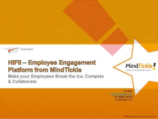MindTickle HiFli - Online social game for employee engagement
